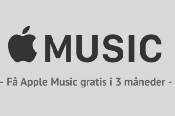 Få Apple Music gratis i 3 måneder
